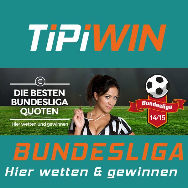 Bundesliga wettem und geweinnem mit TipiWIN
