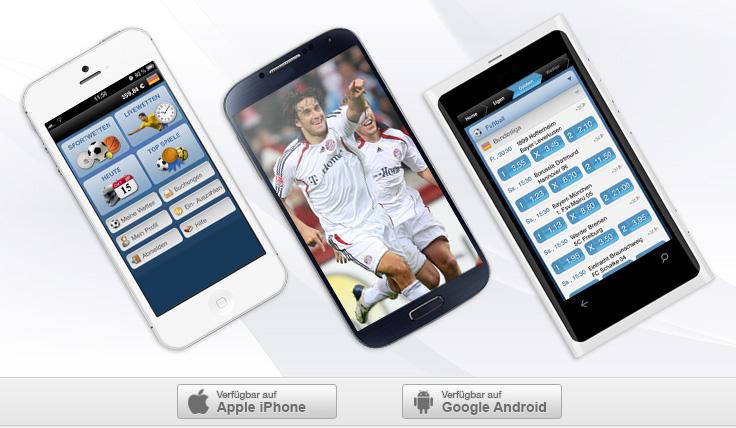 Alle Live-Spiele am Smartphone - Kein Match mehr verpassen